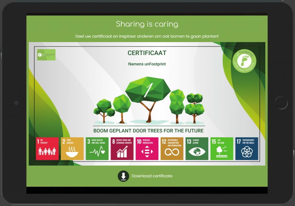 transparantie in CO2 compensatie door certificaat