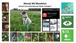 Woody Wil Wandelen doneert duurzame data aan Plastic Avengers!